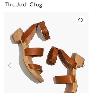 NWT - Madewell Jodi Clog